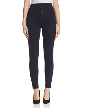 7d43b5a1767 J Brand - Natasha Button Sky High Skinny Jeans in Bluebird ...