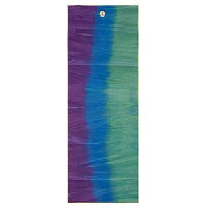 Manduka Yogitoes Peacock Skidless Towel