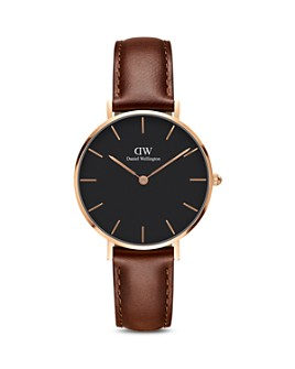 Daniel Wellington - Classic Petite Leather Watch, 32mm