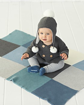 Elegant Baby - Infant Boys' Patchwork Blanket