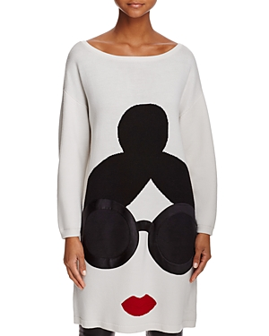 Alice + Olivia Stace Face Sweater Tunic