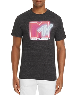 Freeze Neon Mtv Logo Tee