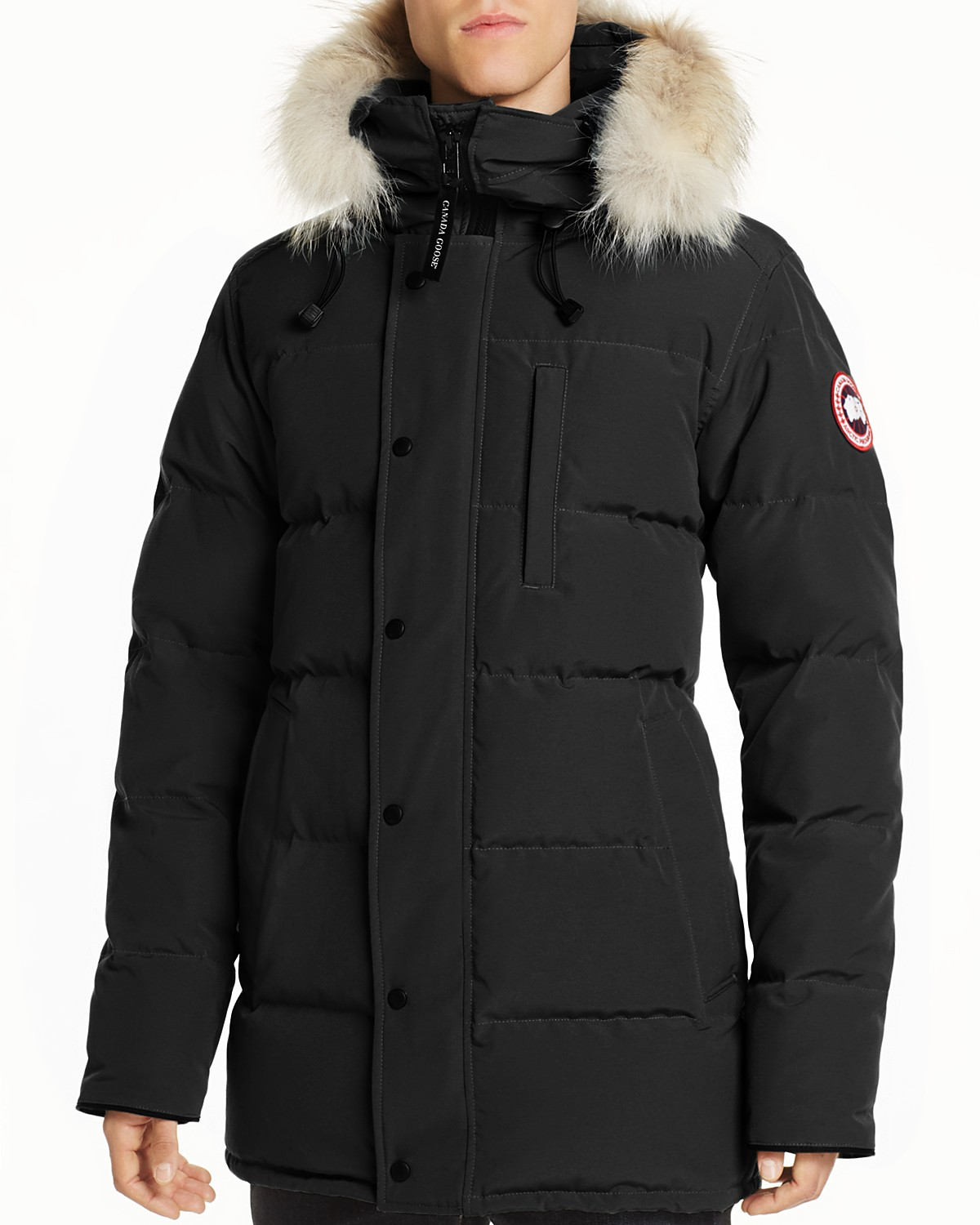 Chateau Shell Hooded Down Parka - BlackCanada Goose Wiki Pas Cher uqwSbFZ