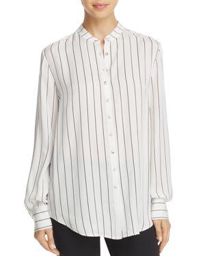 Donna Karan Silk Stripe Blouse