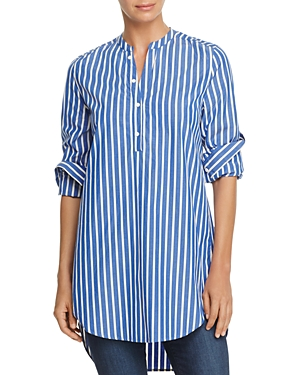 French Connection Sophia Striped Shirt Dress