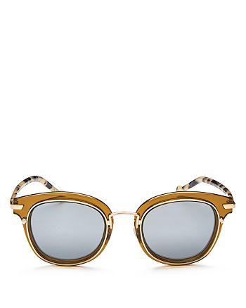 1f11fec6a17 Dior - Women s Origins 2 Mirrored Square Sunglasses