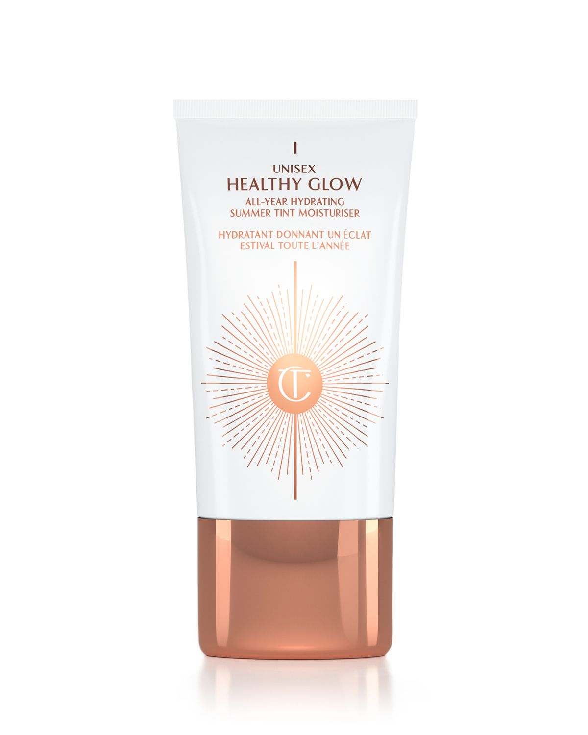 Unisex Healthy Glow All Year Summer Tint Hydrating Moisturizer by Charlotte Tilbury