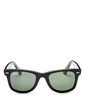 Ray-Ban Wayfarer Polarized Square Sunglasses, 50mm
