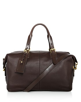 Cole Haan - Brayton Pebbled Leather Duffel