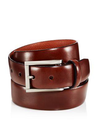 TRAFALGAR Marco Leather Belt in Honeymaple Brown