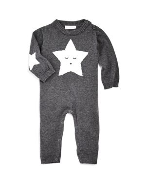 Elegant Baby Unisex Star Knit Coverall - Baby thumbnail