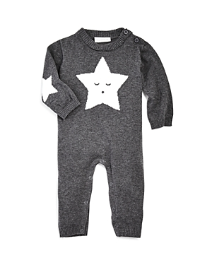 Elegant Baby Unisex Star Knit Coverall - Baby
