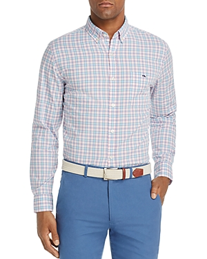 Vineyard Vines Hamlets Port Tucker Plaid Slim Fit Button-Down Shirt