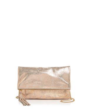 Aqua Foldover Leather Crossbody - 100% Exclusive 2658347
