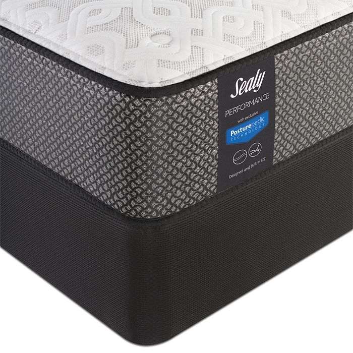 Sealy Posturepedic - Merriment Plush TT Full Mattress & Box Spring Set