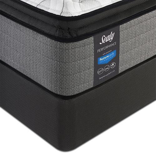 Sealy Posturepedic - Surprise Plush Euro Pillow Top Queen Mattress & Box Spring Set