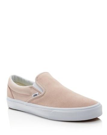 $Vans Classic Suede Slip-Ons Sneakers - Bloomingdale's