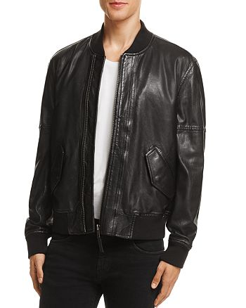 BLANKNYC - Leather Baseball Jacket - 100% Exclusive