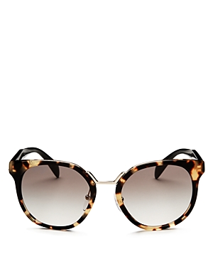 Prada Crazy Daises Square Sunglasses, 53mm