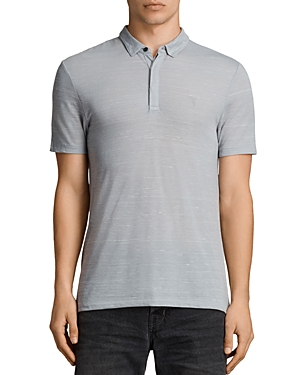 Allsaints Stanley Short Sleeve Slim Fit Polo