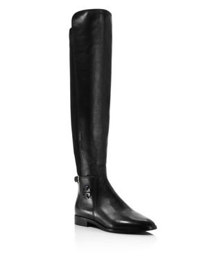 Tory Burch Women's Wyatt Leather Over-the-Knee Boots 2662813