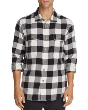Obey Buffalo-Plaid Regular Fit Shirt