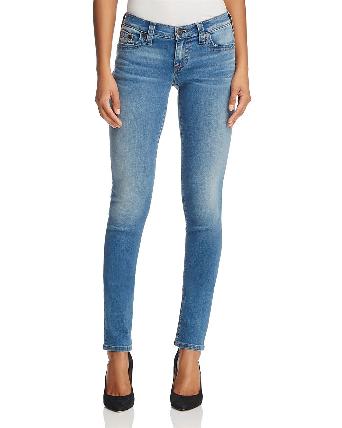 True Religion - Stella Skinny Jeans in Authentic Indigo