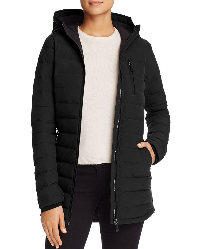 Moose Knuckles LIGHTWEIGHT HOODED DOWN COAT