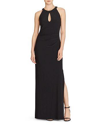 Ralph Lauren - Jersey Keyhole Gown
