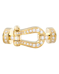 Fred 18K Yellow Gold Force 10 Diamond Medium Buckle - Bloomingdale's_0