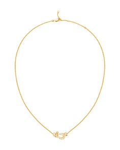 Fred 18K Yellow Gold Force 10 Pavé Diamond Buckle Pendant Necklace - Bloomingdale's_0