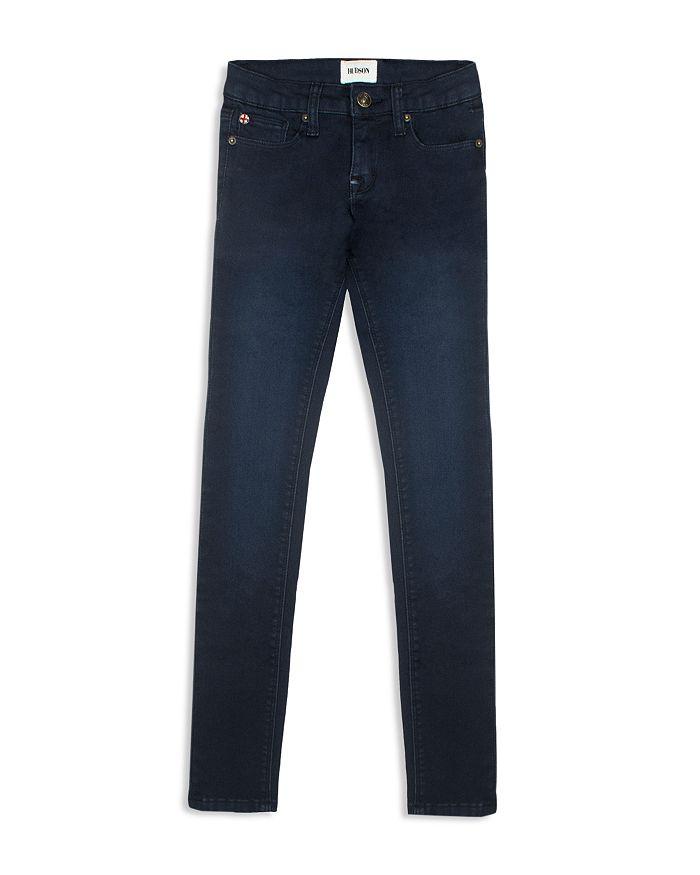 Hudson - Girls' Collin Canal Blue Wash Skinny Jeans - Big Kid