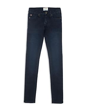 Hudson Girls Collin Canal Blue Wash Skinny Jeans  Big Kid