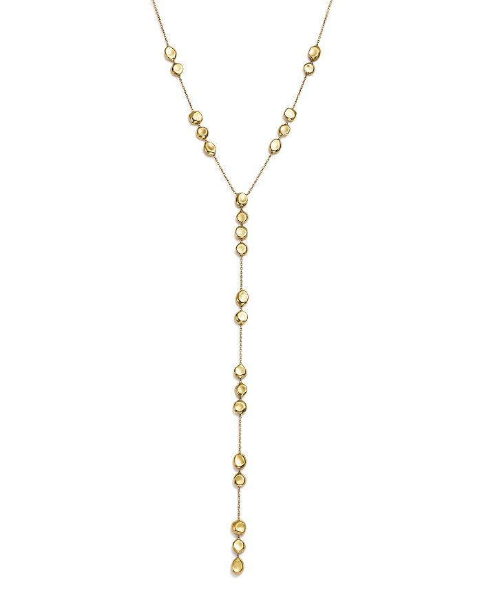 """IPPOLITA - 18K Yellow Gold Onda Pebble and Chain Lariat Necklace, 22"""" - 100% Exclusive"""