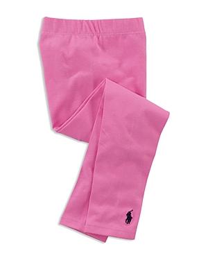 Ralph Lauren POLO RALPH LAUREN GIRLS' STRETCH COTTON LEGGINGS - LITTLE KID