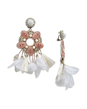 Ranjana Khan Statement Clip-On Earrings