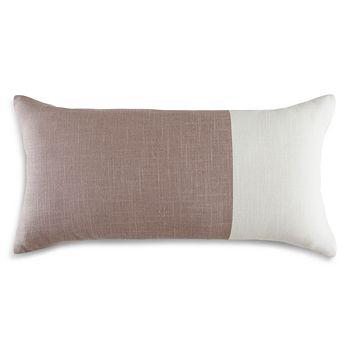 "DwellStudio - Colorblock Decorative Pillow, 12"" x 24"""