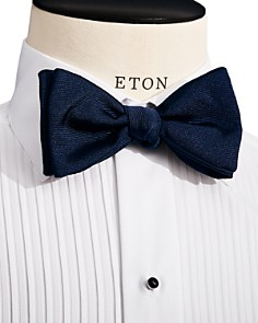 Eton - Grosgrain Self Tie Bow Tie