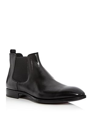 Armani Men's Leather Chelsea Boots