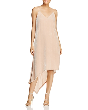 Bcbgmaxazria Asymmetric Velvet Dress