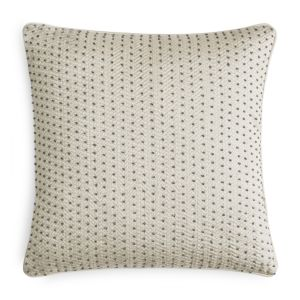 Hudson Park Framework Embroidered Beaded Decorative Pillow, 16 x 16 - 100% Exclusive