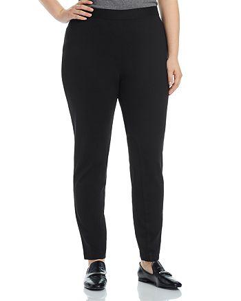 Foxcroft Plus - Noami Slim Ponte Pants