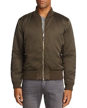 7 For All Mankind Satin Bomber Jacket