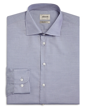 Armani Collezioni Fine Stripe Classic Fit Dress Shirt