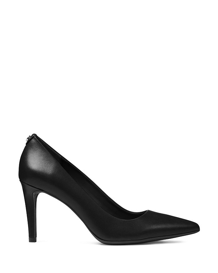 814ed12e028 MICHAEL Michael Kors - Women s Dorothy Flex Leather Pointed Toe High-Heel  Pumps