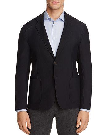 Armani Collezioni - Textured Classic Fit Sport Coat