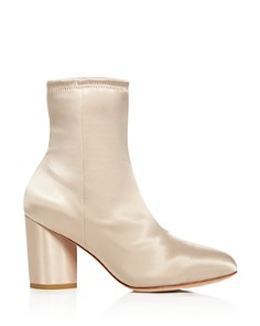 Opening Ceremony - Women's Dylan Satin Block Heel Booties