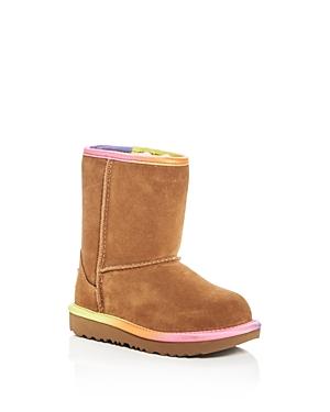 Ugg Girls Classic Short Ii Rainbow Suede Boots  Walker Toddler