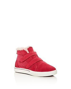 Ugg Girls T Rennon Stars Suede  Canvas Sneaker Boots  Walker Toddler