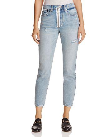Pistola - Nico High-Rise Exposed Zip Skinny Jeans in Lexington Lux